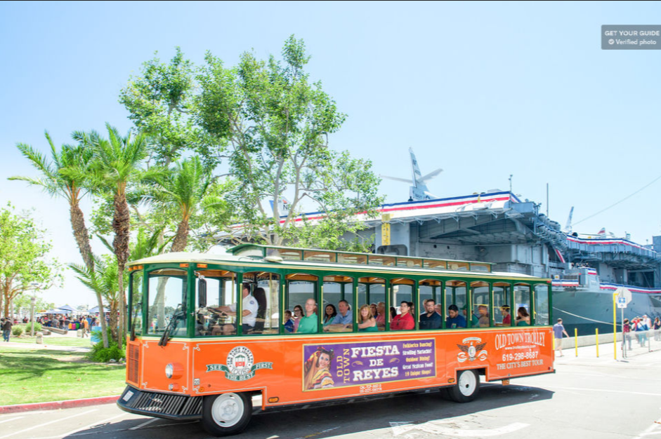 Old Town San Diego Hop-On Hop-Off Narrated Tour