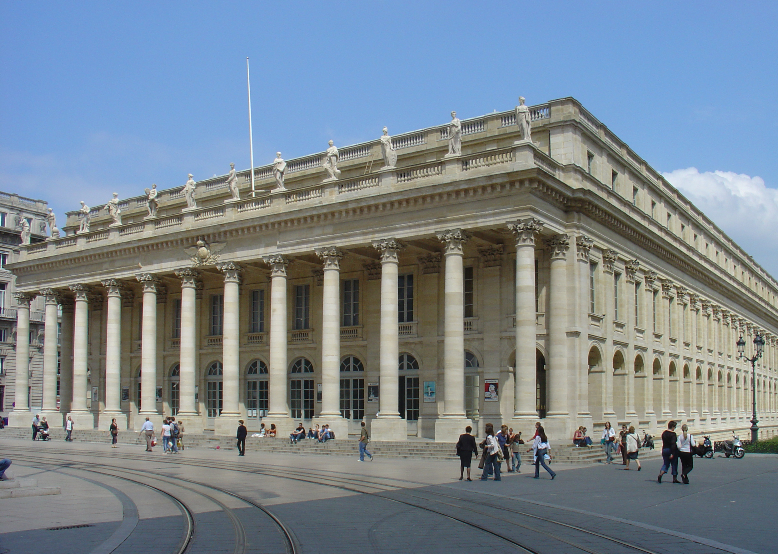 The History of the Grand Theatre of Bordeaux