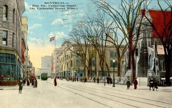 The History of the Rue Sainte Catherine