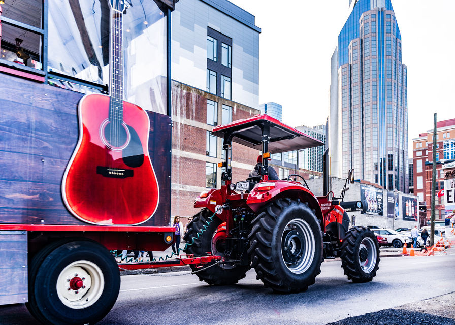 Tractor Party Tour and Moonshine Distillery