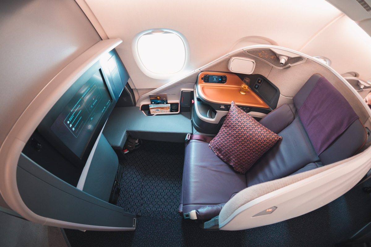 Exceptional Business and First-Class Seats