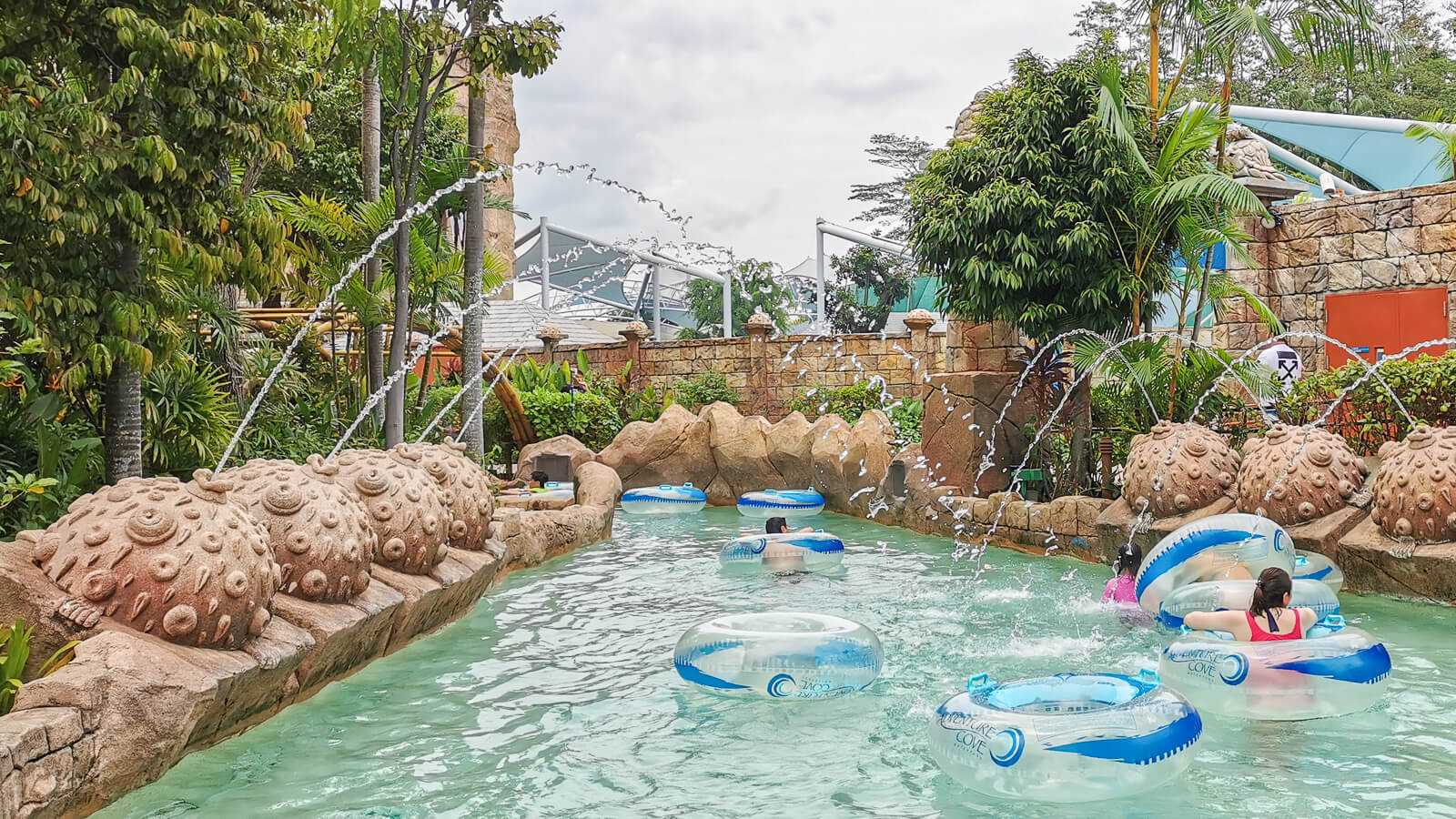Have a wet and wild escapade at Adventure Cove Waterpark
