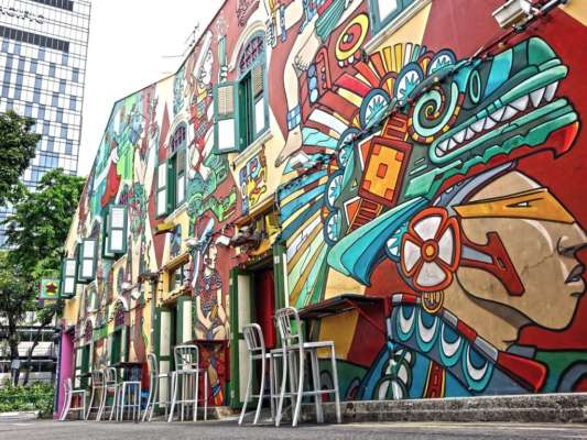 Hunt street art and quirky finds at Haji Lane