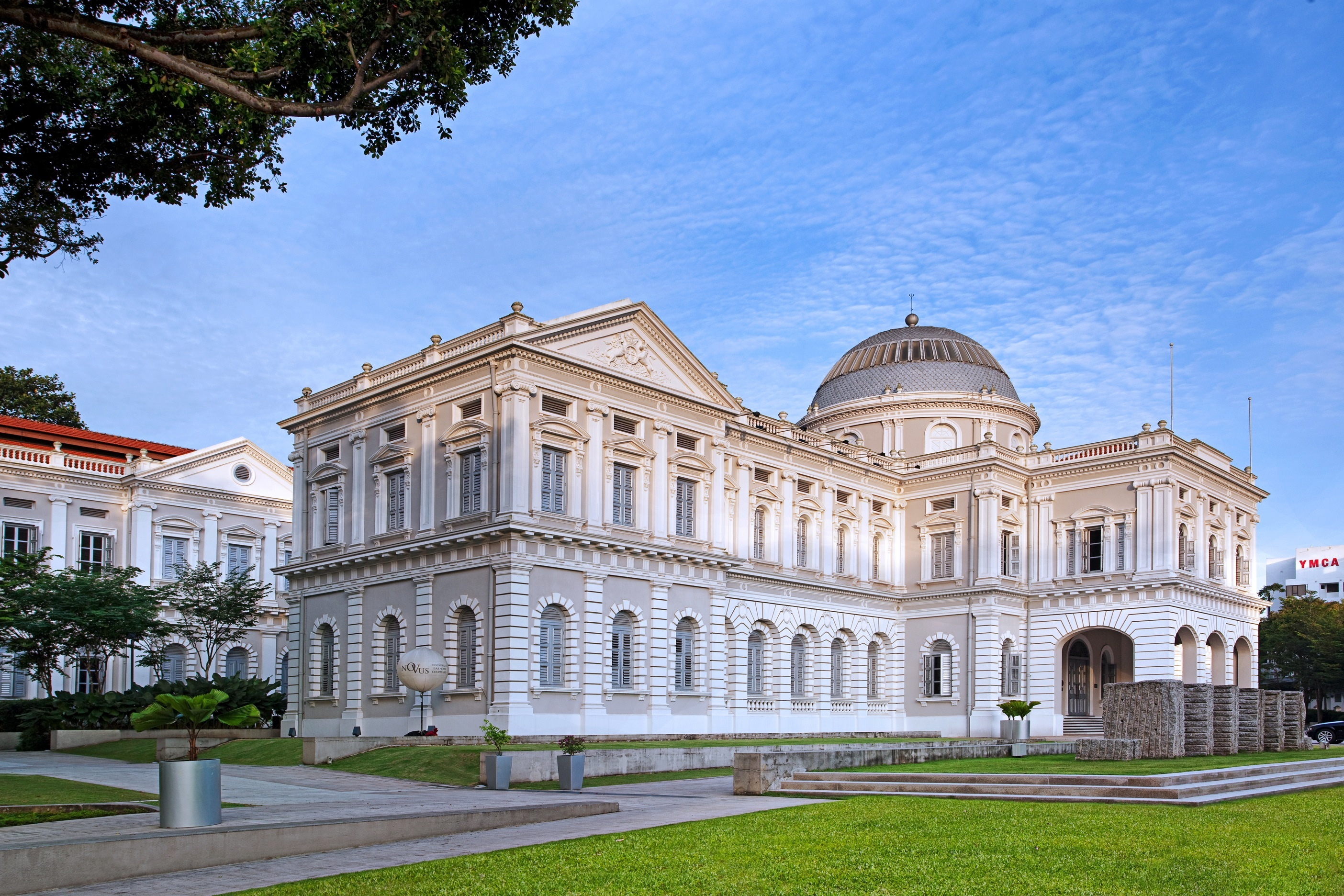 Learn more about the city's history at National Museum Singapore