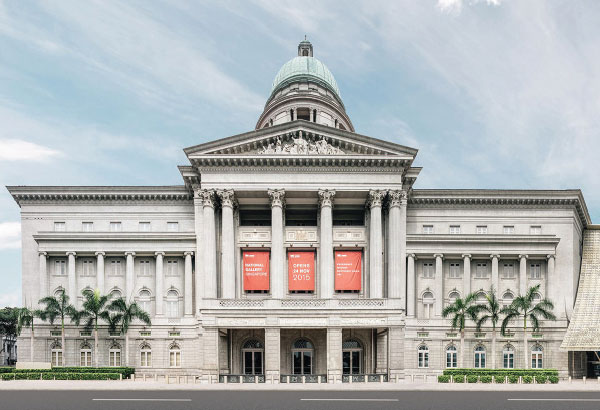 Pay a visit to National Gallery Singapore