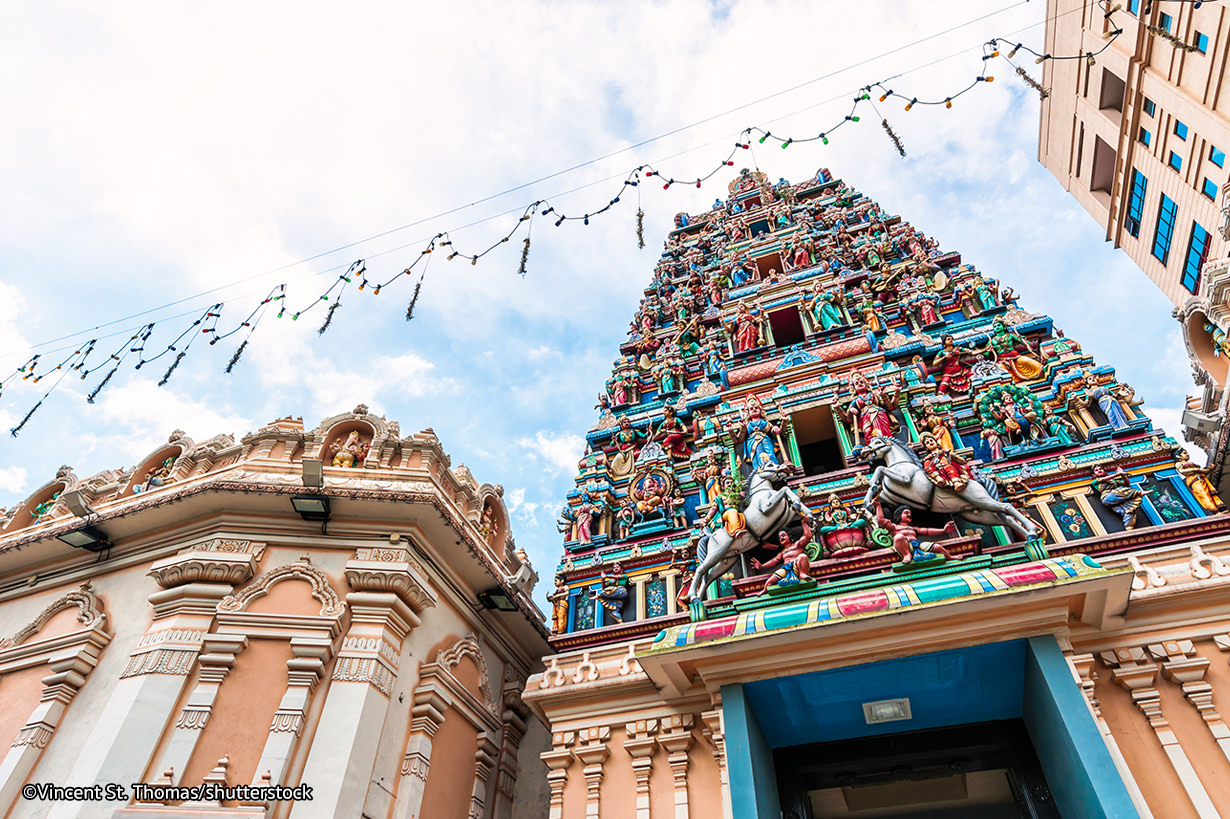 Pay homage to the Sri Mariamman Temple