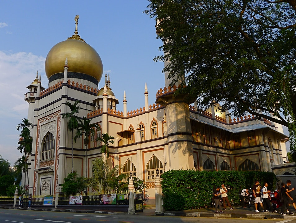 Swing by Sultan Mosque