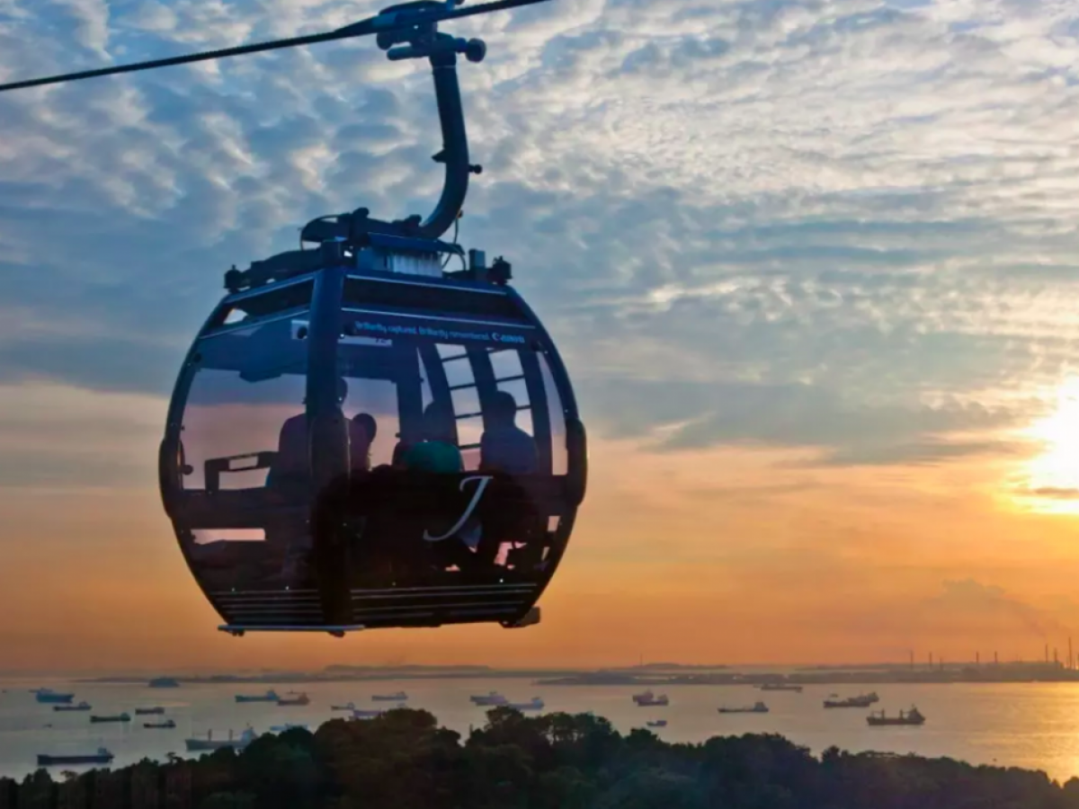 Take the Singapore Cable Car ride