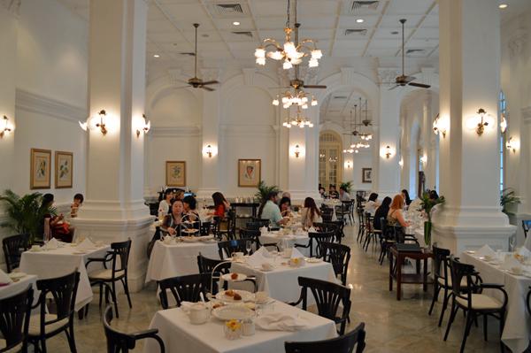 The Tiffin Room Restaurant Raffles Hotel