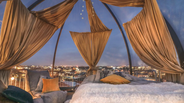 Glamping@ CityCenter Penthouse w/Jacuzzi+Parking