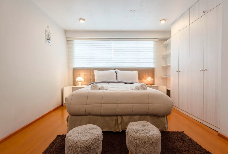 Duplex apartment, very cozy with all the comforts