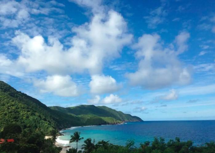 St. Croix Buck Island Views on North Shore