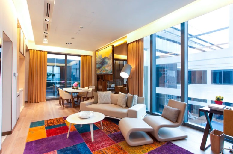 1-bedroom luxury penthouse 5 star + BBQ terrace