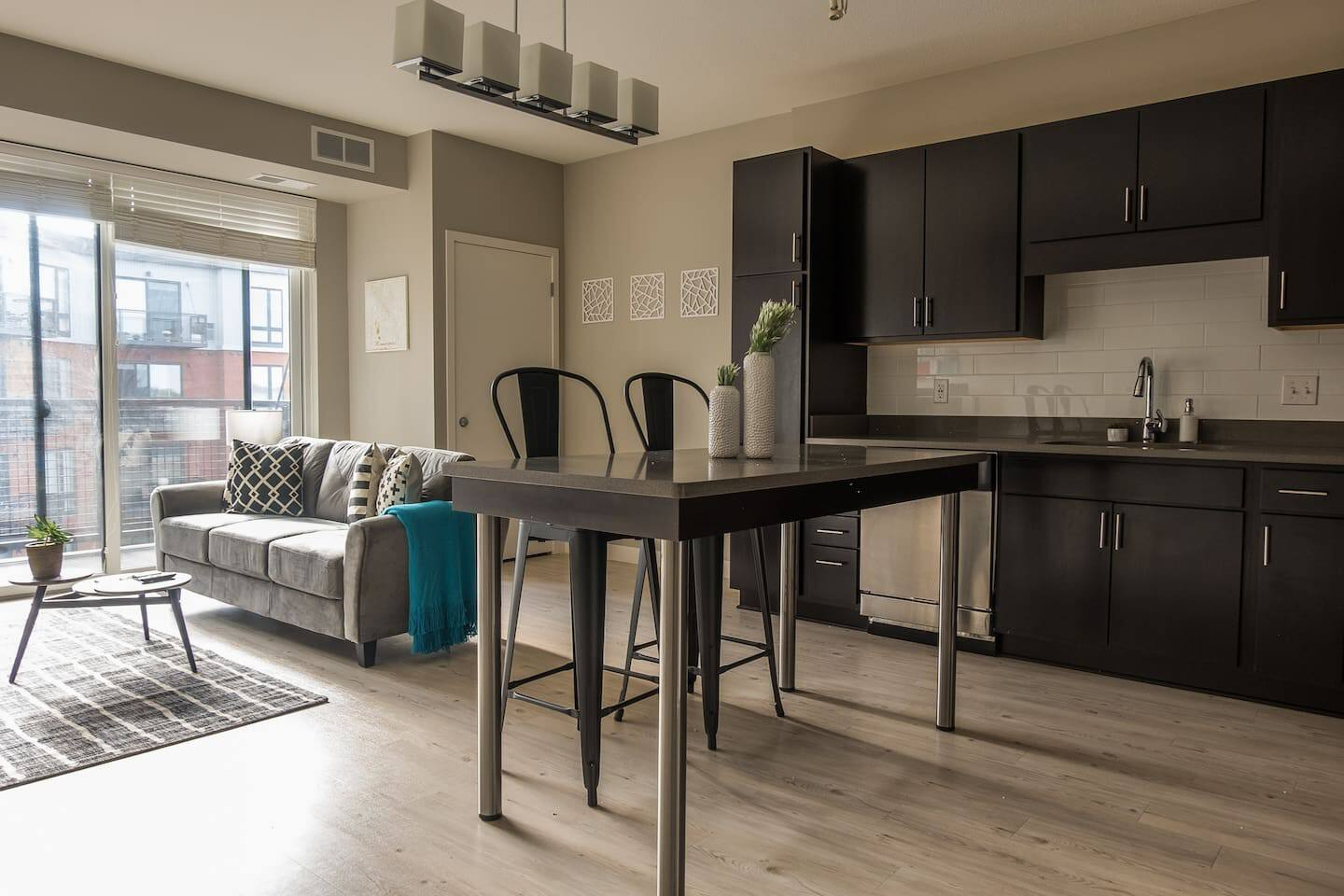 Updated 1BR apartment by the Mississippi River